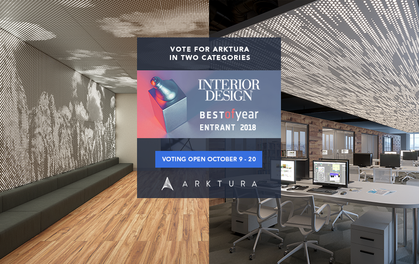Arktura Showcased In Two Categories For Interior Design's Best Of Interesting Interior Design Categories