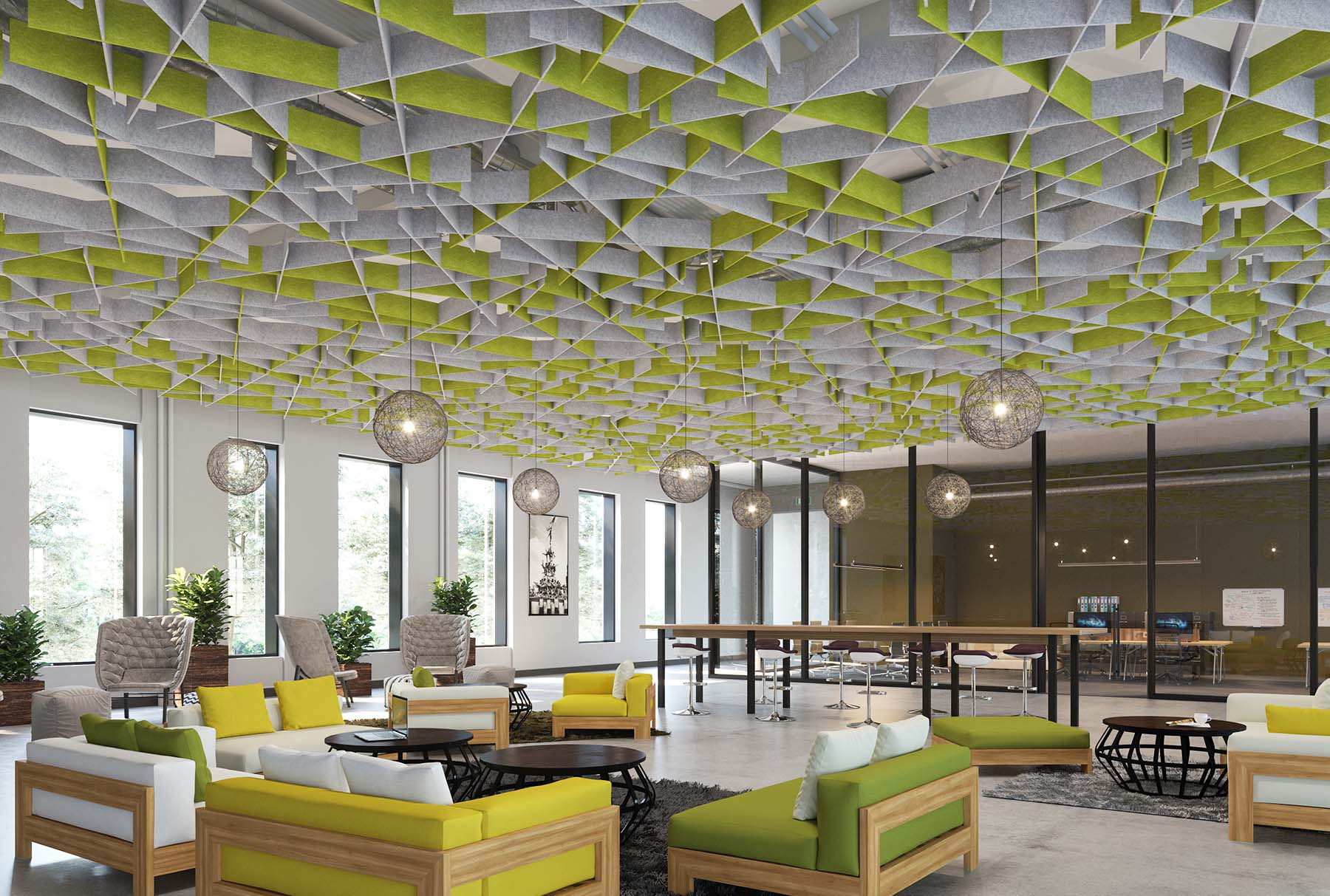 Arktura Softgrid 174 Switch Standard Ceiling Systems