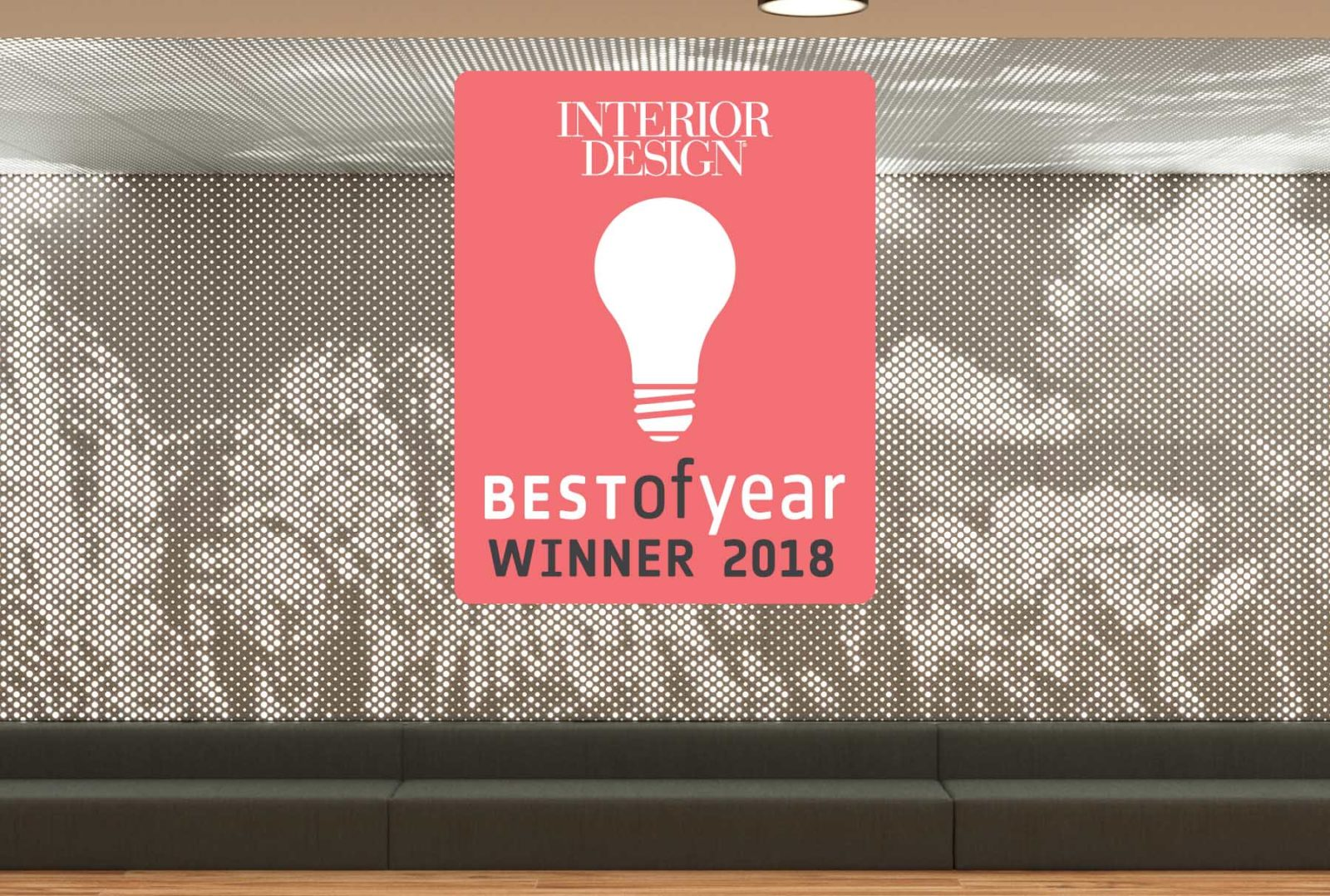 Vapor Graphic Perf Wins At Interior Design S 2018 Best Of Year Awards Arktura