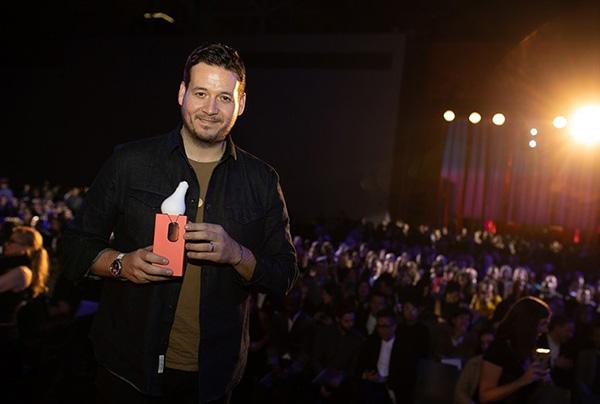 Sebastian Holding Interior Design Best of Year Award in New York City