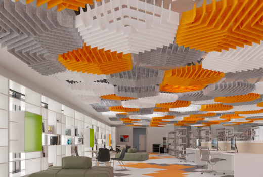 """""""Quiet Library"""" Featuring: SoftGrid® Deca by Arktura"""