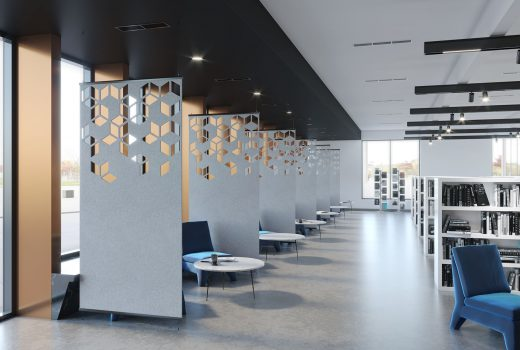 Perforated Metal Wall Panels - SoftScreen® Cora by Arktura