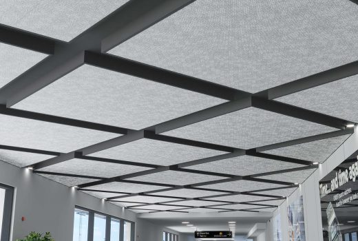 Floating Ceiling Panels - Arktura Particle Ion