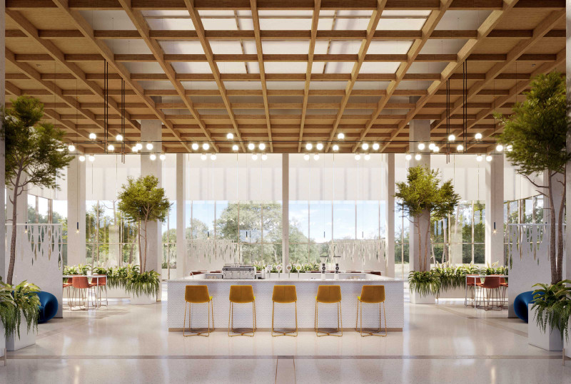 """Elegant Bar Seating"" Featuring: SoftSpan® 48 by Arktura"