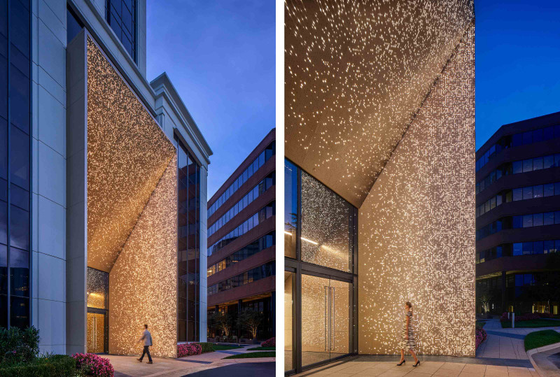 Arktura Graphic Perf Scripted - Exterior Metal Wall Panels