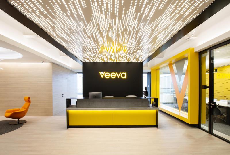 """Veeva Systems"" Barcelona, Spain, Brereton Architects, Featuring: Vapor® Trail by Arktura"
